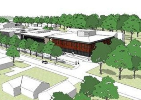 Runshaw College theatre and performing arts centre plans, Langdale Road, Leyland